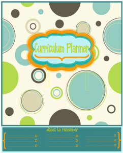 Curriculum Planner Bubbles | Tina's Dynamic Homeschool Plus