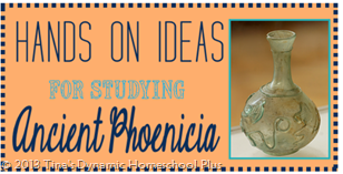 Ancient Phoenicia Craft Roundup