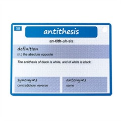 antithesis marie words definition