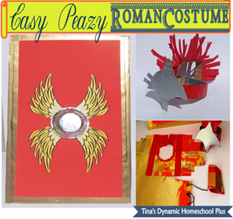 How to Make an Easy Peazy Roman Costume
