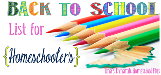 Day 14: A Homeschooler's Not Back To School List. {31 Day Boot Camp For New Homeschoolers on My Blog}