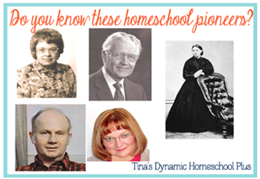 Do you know these homeschool pioneers?
