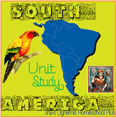 South America Unit Study Tinas Dynamic Homeschool Plus thumb My Conundrum + Organized Student Planner