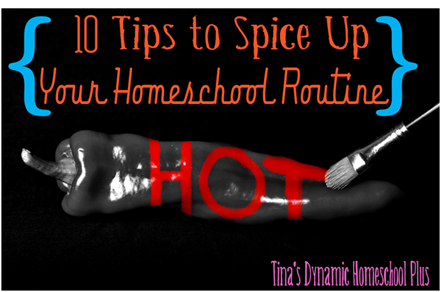 10 Tips to Spice Up Your Homeschool Routine