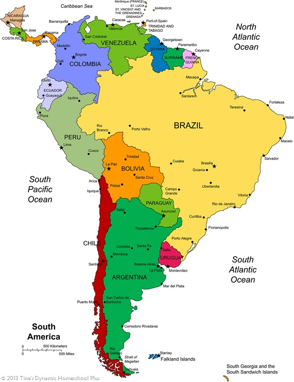 South America Unit Study Resources