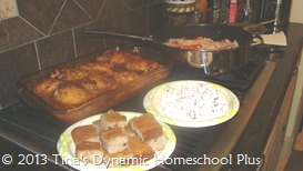Eating An Afican Meal when Studying about Africa 2| Tina's Dynamic Homeschool Plus