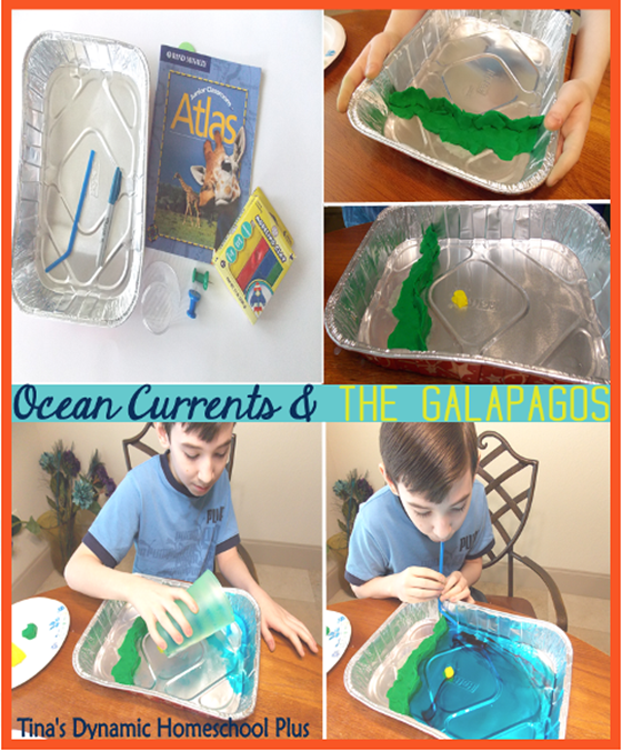 Ocean Currents and The Galapagos - South American Unit Study | Tina's Dynamic Homeschool Plus