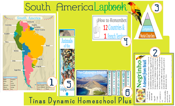 South America Lapbook Updated 11.3.2013
